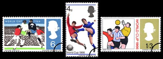 World Cup Football Stamp(s)