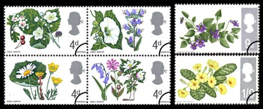 Wild Flowers (Phosphor) Stamp(s)