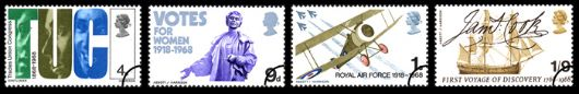 British Anniversaries Stamp(s)