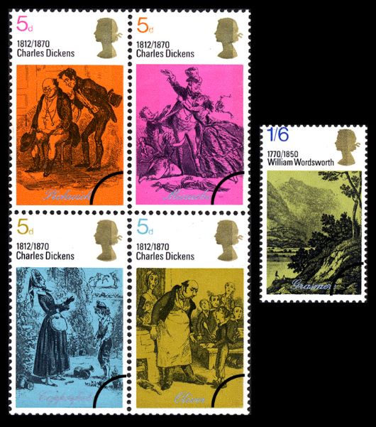 Literary Anniversaries 1970 Stamp(s)