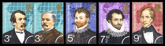 British Explorers Stamp(s)