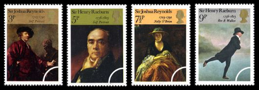 British Paintings 1973 Stamp(s)