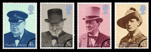 Winston Churchill Stamp(s)