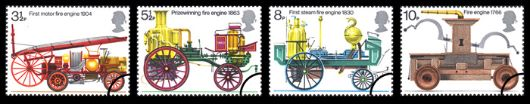 Fire Engines Stamp(s)