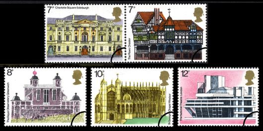 European Architectural Heritage Year Stamp(s)