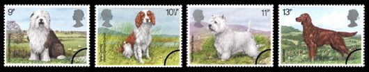 British Dogs Stamp(s)