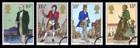 Rowland Hill: Stamps Stamp(s)