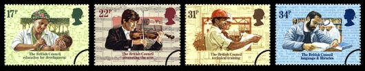 British Council Stamp(s)