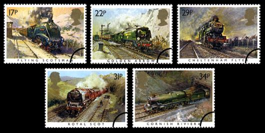 Famous Trains Stamp(s)