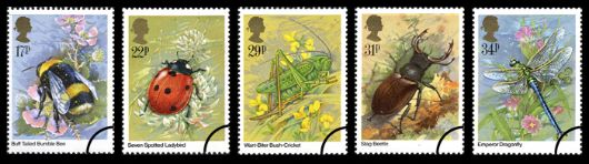 British Insects Stamp(s)
