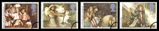 Arthurian Legend Stamp(s)