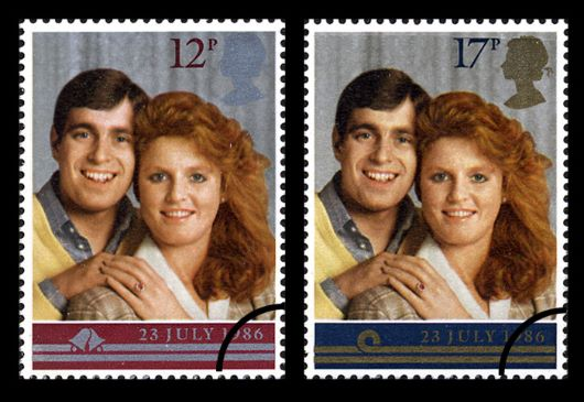 Royal Wedding 1986 Stamp(s)
