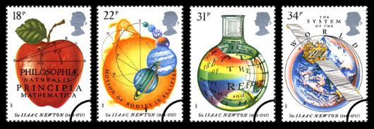 Sir Isaac Newton Stamp(s)
