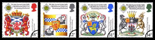 Scottish Heraldry Stamp(s)