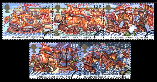 Spanish Armada Stamp(s)