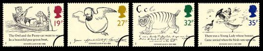 Edward Lear: Stamps Stamp(s)