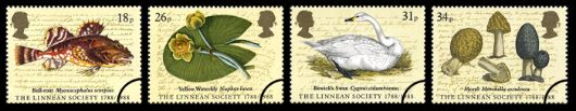 Linnean Society Stamp(s)
