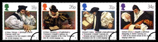 Welsh Bible Stamp(s)
