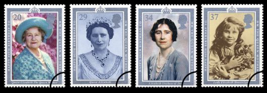 Queen Mother 90th Birthday Stamp(s)