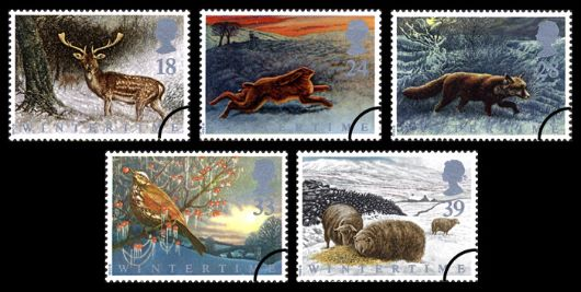 4 Seasons: Winter Stamp(s)