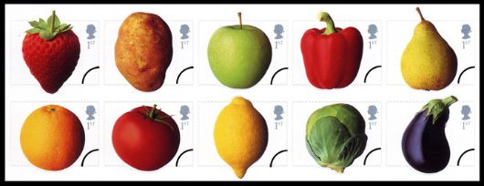 Fun Fruit and Veg Stamp(s)