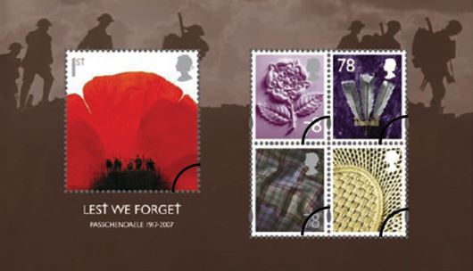 Lest We Forget  Miniature Sheet