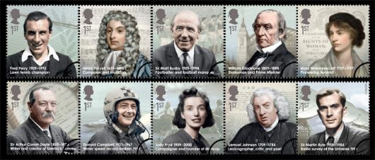 Eminent Britons Stamp(s)