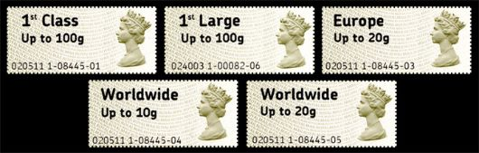 Post & Go Labels Stamp(s)