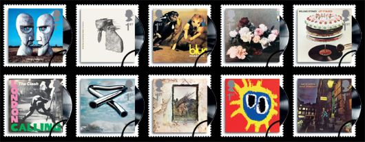 classic album covers 2010  commemorative stamps    bfdc