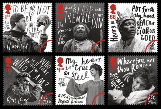 Royal Shakespeare Company Stamp(s)