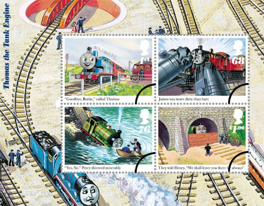 Thomas the Tank Engine: Miniature Sheet