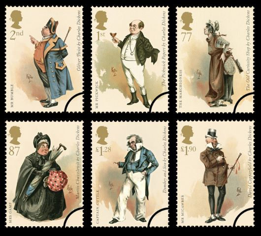 Charles Dickens Stamp(s)