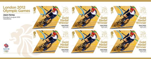 Cycling - Track - Men's Sprint: Olympic Gold Medal 18: Miniature Sheet