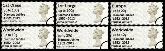 Diamond Jubilee Stamp(s)