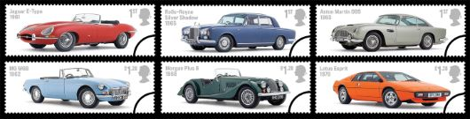 British Auto Legends Stamp(s)