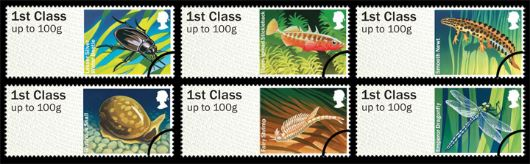 Freshwater Life: Series No.1, Pond Life Stamp(s)