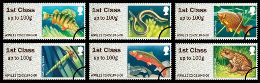 Freshwater Life: Series No.2, Lakes Stamp(s)