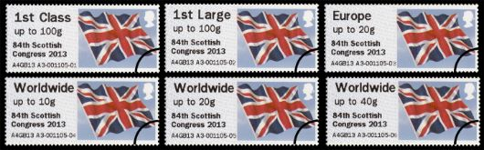 84th Scottish Congress Flag Stamp(s)