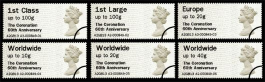 Coronation 60th Anniversary Stamp(s)