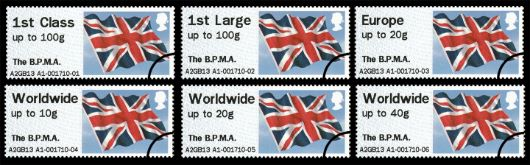 The BPMA Union Flag Stamp(s)