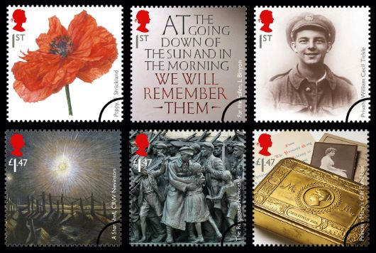 The Great War 2014 Stamp(s)
