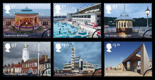 Seaside Architecture Stamp(s)
