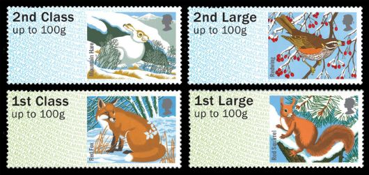 Winter Fur & Feathers Stamp(s)