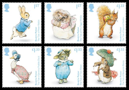 Beatrix Potter Stamp(s)