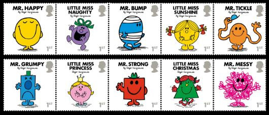 Mr Men & Little Miss Stamp(s)