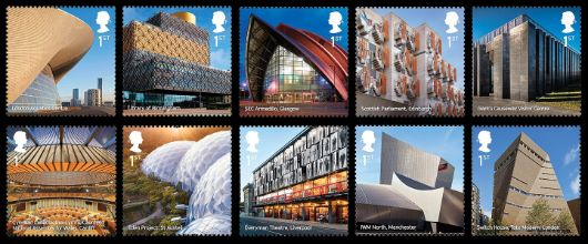 Landmark Buildings Stamp(s)
