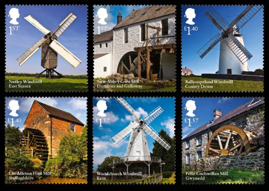 Windmills and Watermills Stamp(s)