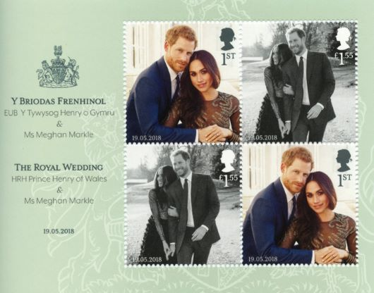 Royal Wedding: Miniature Sheet