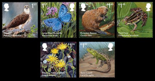 Re-introduced Species Stamp(s)