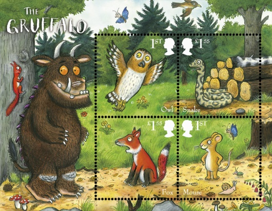 The Gruffalo: Miniature Sheet